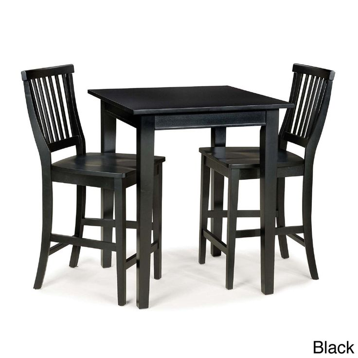 Home Styles Arts and Crafts 3-piece Bistro Set