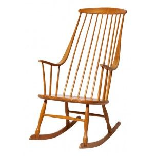 "Rocking chair ""Grandessa"", Lena LARSSON - années 60"