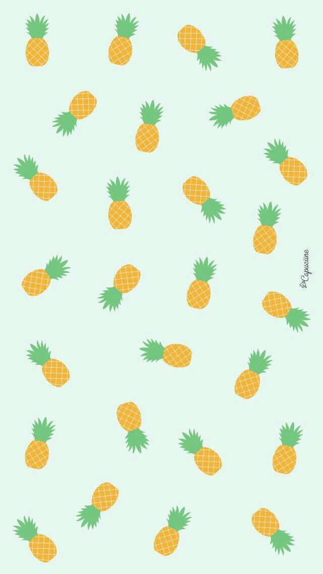 Wallpaper, lockscreen, abacaxi