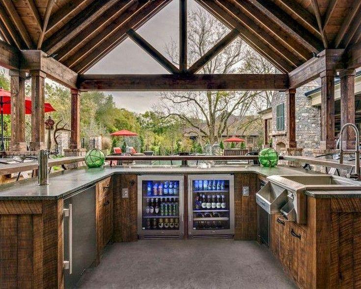 44+ tolle Outdoor-Küchenideen mit kleinem Budget