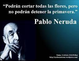 Verso de Pablo Neruda