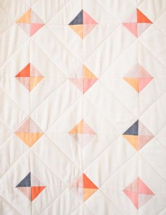 Tiny Tile Quilt | The Purl Bee