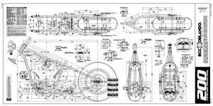 200 rigid chopper frame plans