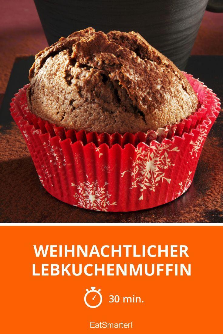 Weihnachtlicher Lebkuchenmuffin - smarter - Zeit: 30 Min. | eatsmarter.de