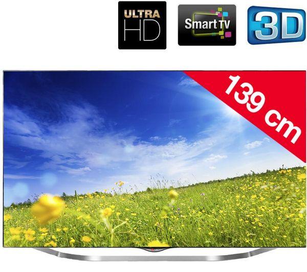 Téléviseur led Pixmania promo tv led, le LG 55UB850V - Téléviseur LED 3D Smart TV Ultra HD prix promo Pixmania 1 531.99 € TTC au lieu de 2 307 €