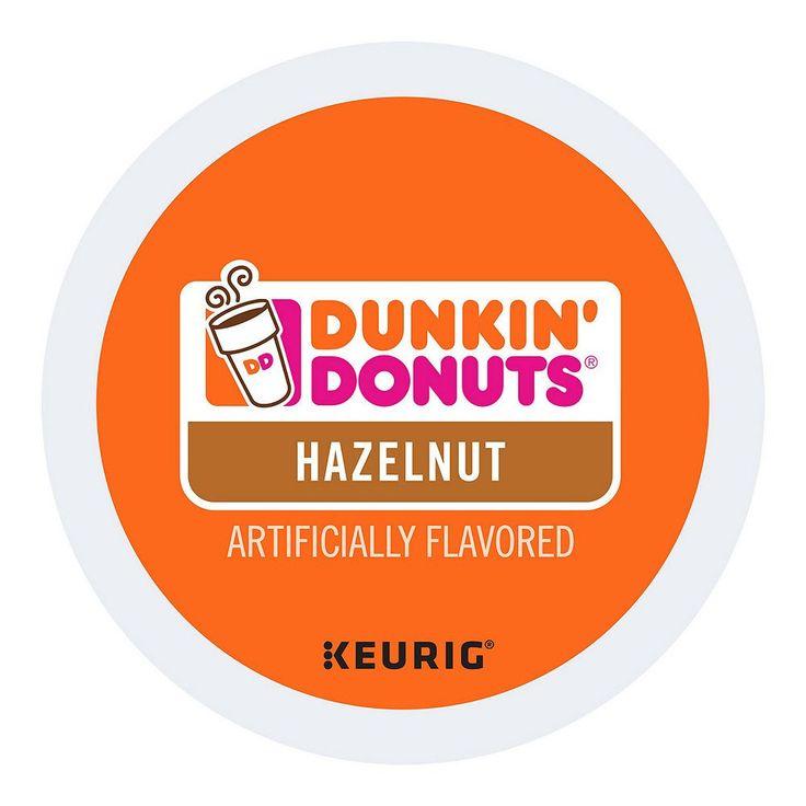 Dunkin' Donuts Coffee Keurig K-Cups, Hazelnut