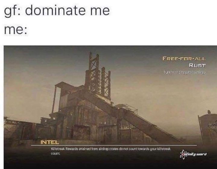 Gf Dominate Me Rust Map Http Www Atlasbuzz Com Pin Gf Dominate Me Rust Map Funny Memes Funnymemes Memesdaily Funny Games Thats Not My Gaming Blog