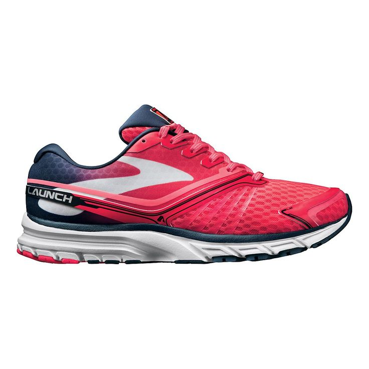 Rocket your runs right into the stratosphere with this lightweight, out-of-this world trainer, the Womens Brooks Launch 2