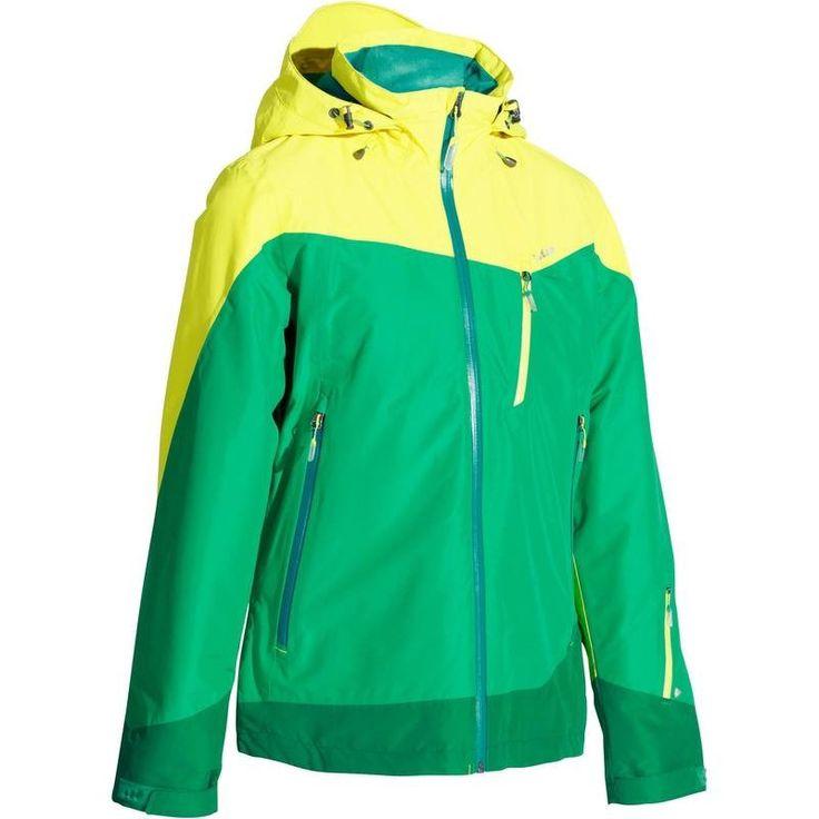 SKI SNOWBOARD LUGE Vêtements - VESTE SKI FEMME FREE 600 WED'ZE - Les hauts