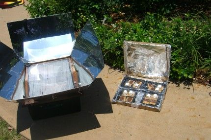 i would like a solar oven, this is a cute idea for a kids solar oven from a pizza box, make smores in it.
