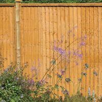6ft High Closeboard Fence Panel