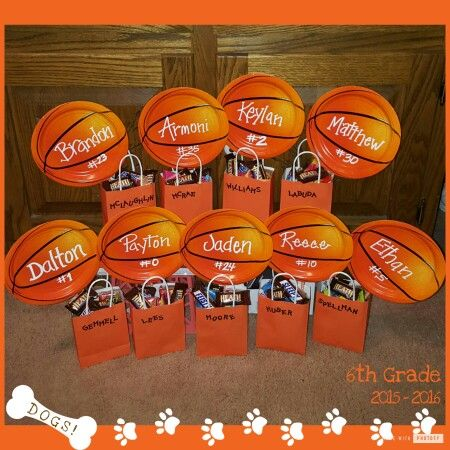 Basketball Goody Bags Jill S Skills Basketball Gifts