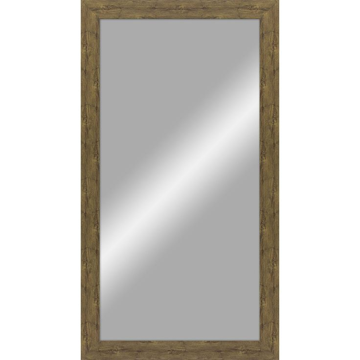 mirror 24 x 48. 24-in x 48-in rustic barn wood polished rectangle framed transitional wall mirror 24 48