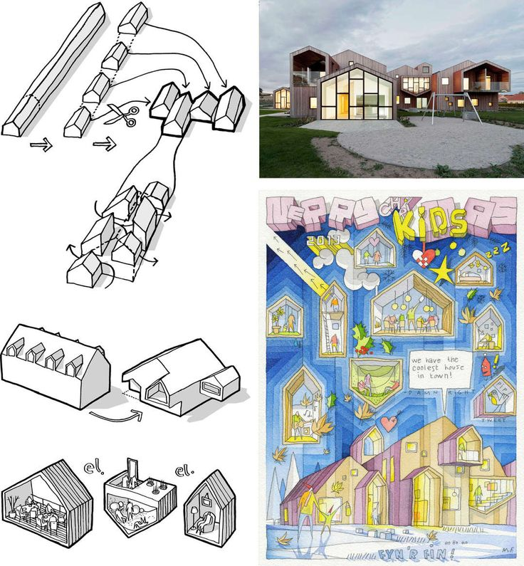 How Architecture Is Born: 12 Joyful Sketches by CEBRA and the Buildings They Helped Shape - Architizer