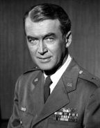 Jimmy Stewart was the first Hollywood celeb to enter the service for World War II.  He would fly 20 combat missions as a B-24 Pilot in Europe and command a squadron, eventually earning the rank of colonel, as well as the Air Medal, the Distinguished Flying Cross, the Croix de Guerre and seven battle stars. After the war, Stewart continued in the U.S. Air Force Reserve and became a brigadier general.