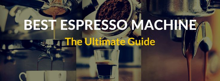 We made this guide to help you find the best espresso machine for whatever budget you may have. But first let start by finding out how these machines work...