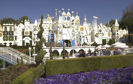 It's a Small World Attraction  Disney Land Anaheim, California