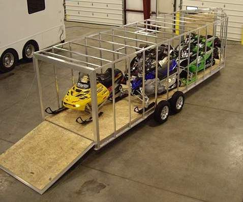 snowmobile trailers | Snowmobile Trailers For Sale