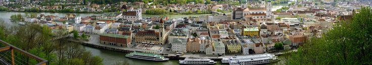 Die Altstadt Passaus an der Donau