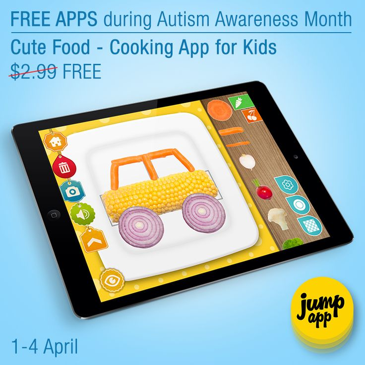 CUTE FOOD #iPad #kids #app is #free for a limited time.  https://itunes.apple.com/us/app/cute-food-cooking-app-for-kids/id648773321
