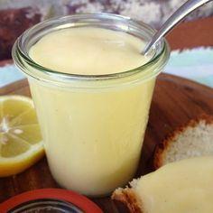 Rezept: Lemon Curd ohne Ei