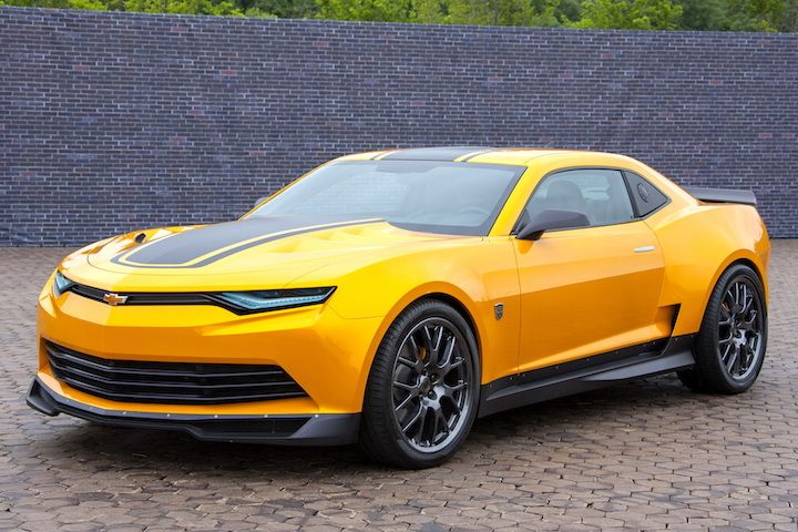 "Bumblebee Camaro Concept | Chevrolet and ""Transformers: Age of Extinction"" in theaters June 27."