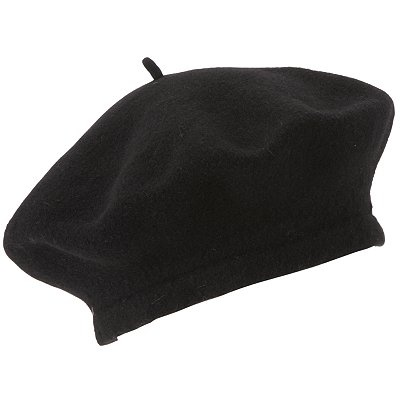 Black beret in case red is too much ;)