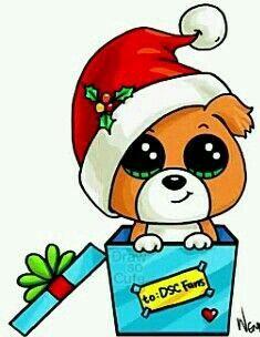 Dog christimas Cachorrinho natal