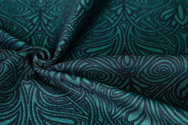Artipoppe ArtiNouveau Pine Wrap  (silk, babycamel) Image