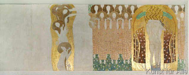Gustav Klimt - G.Klimt, Beethoven-Fries, Poesie