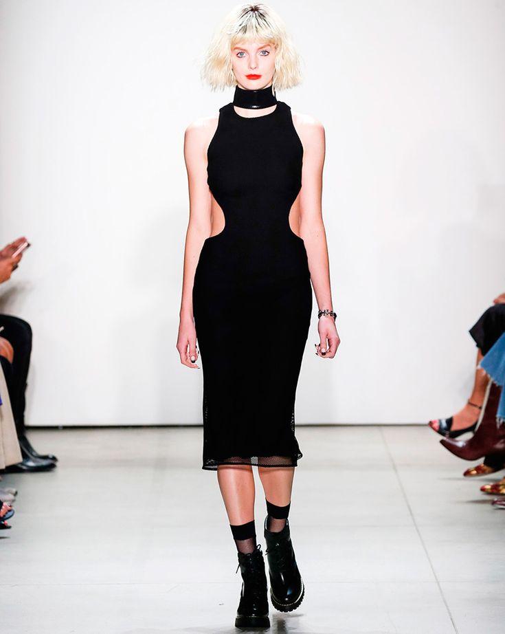 Kollektion Frühjahr-Sommer 2017 mit Elementen der Grunge-Stil von Georgine   Mode