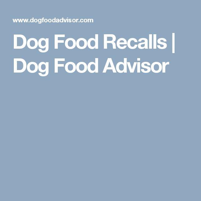 Dog Food Recalls | Dog Food Advisor
