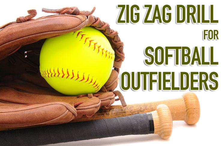 Zig zag drill for outfielders
