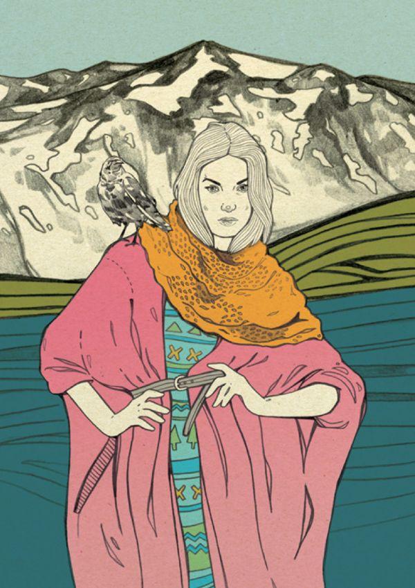Iceland by Magdalena Pankiewicz, via Behance