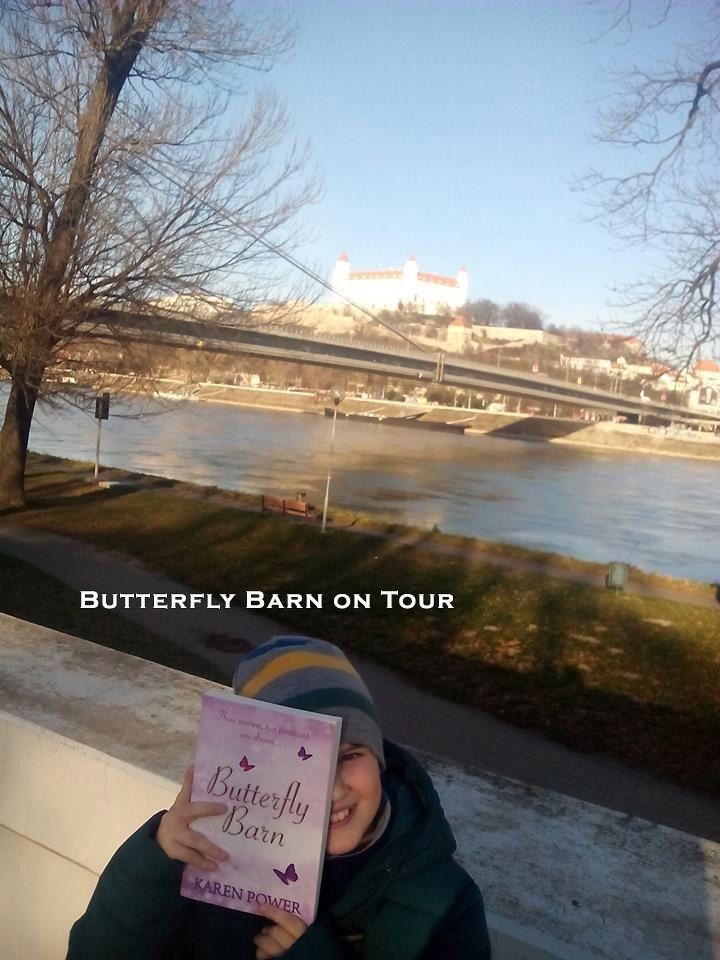 http://www.karenpowerauthor.com/ Butterfly Barn  at Brativslavia Castle.
