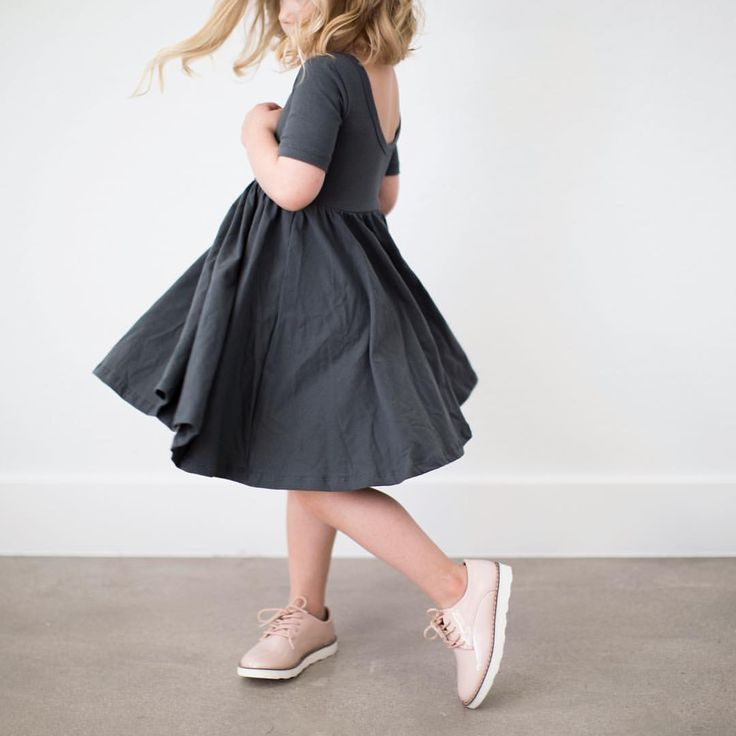 "1,115 Likes, 146 Comments - Alice + Ames | Stacie Lang (@aliceandames) on Instagram: ""The ballet dress in slate, our most 'non-basic basic'. The neutral that goes with everything and…"""