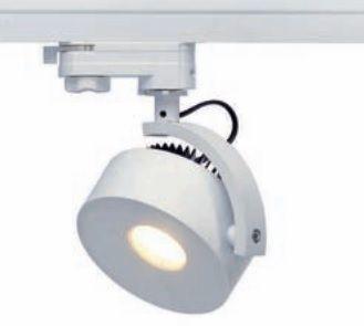KALU TRACK LEDDISK wit 3000K incl 3-f adap (152601) DIMBAAR (vergelijkbaar met 75 Watt halogeen) - Led verlichting shop, led lampen