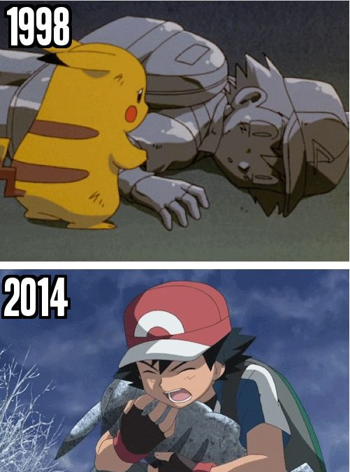 So, you all remeber the heart breaking scene from 'Mewtwo Strikes Back'? Well, looks like the newest Pokemon movie Diancie and the Cocoon of Destruction has decided to give a redo of said heartbreaking scene, but reversed.