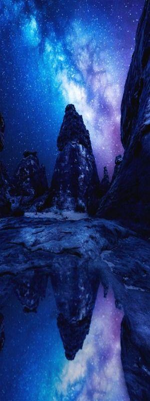 Milky Way Reflection   Italian-Luxury   Instagram   Photographer