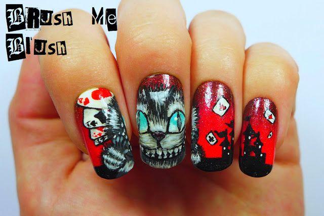 Brush me Blush: Cheshire Cat  #nail #nails #nailart
