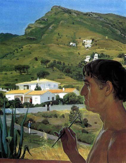 Dmitry Zhilinsky - Selfportrait in Spain, 1991 | Flickr - Photo Sharing!