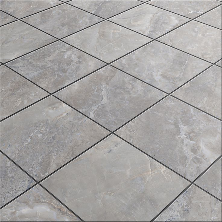 Shop Style Selections Tousette Gray Ceramic Floor Tile
