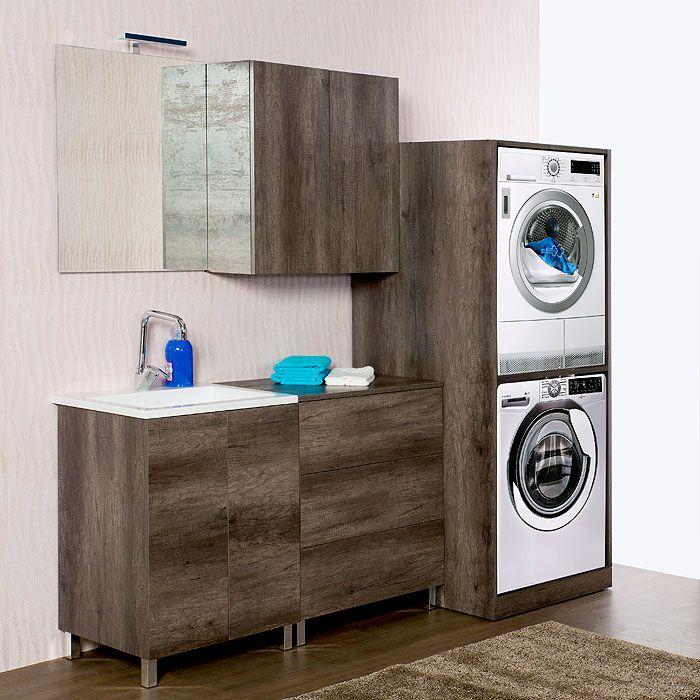 Risultato immagini per mobile lavatrice asciugatrice ...