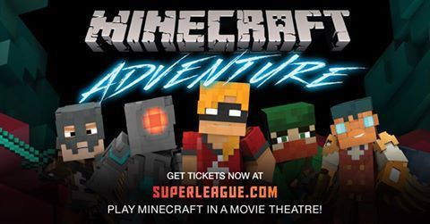 Play Minecraft on the Big Screen: Whitby Landmark Theatre Oct 19