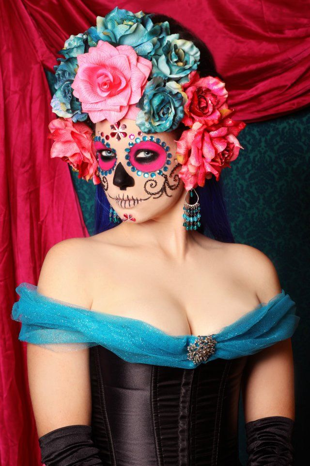 Nice Dia de los Muertos inspired...
