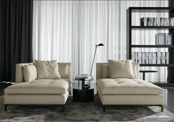 Minotti andersen daybed minotti concept store noort for Chaise longue interieur