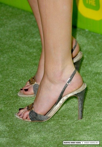 Amber Heards Feet