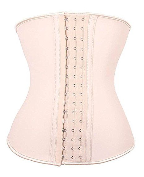 6c5231430d194 YIANNA Women s Underbust Latex Sport Girdle Waist Trainer Corset Hourglass  Body Shaper at Amazon Women s Clothing store
