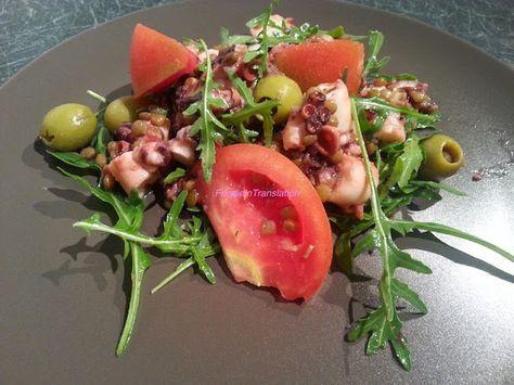 Foodie in Translation: Insalatona estiva: rucola, polpo e pomodori