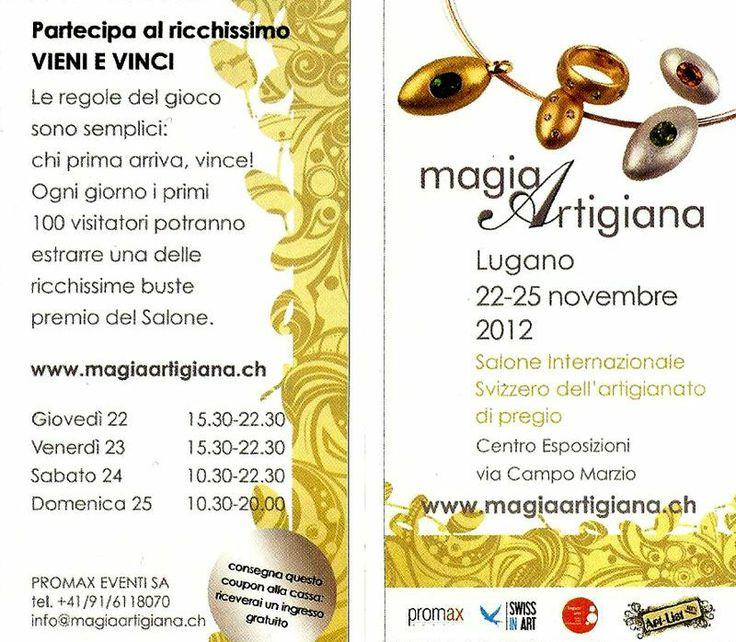 Fiera Magia Artigiana Lugano - Anno 2012